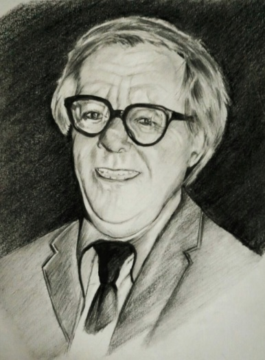 Portrait of Bradbury by Madhurima Banerjea