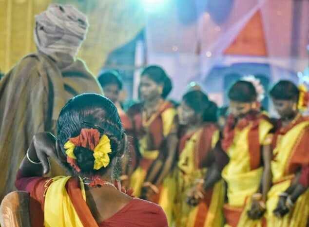 Santhali women