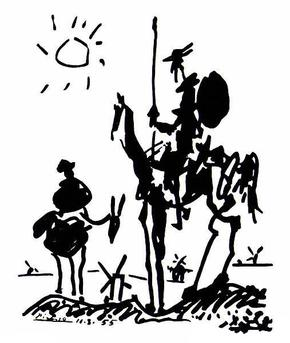 Don_Quixote_(1955)_by_Pablo_Picasso